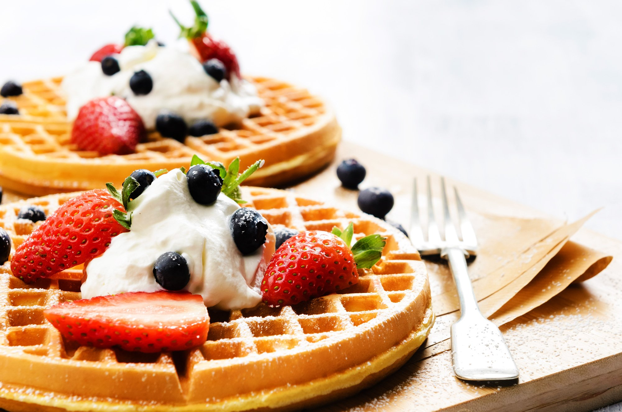 cream waffles and sour cream ice cream sour cream waffles myself 10 ...