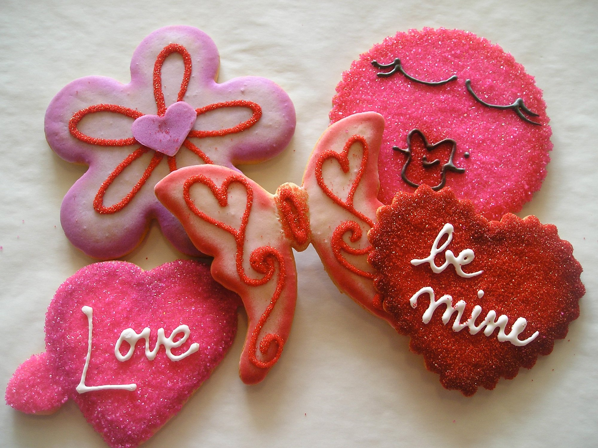 Josef's Hand-Decorated Valentine Cookies