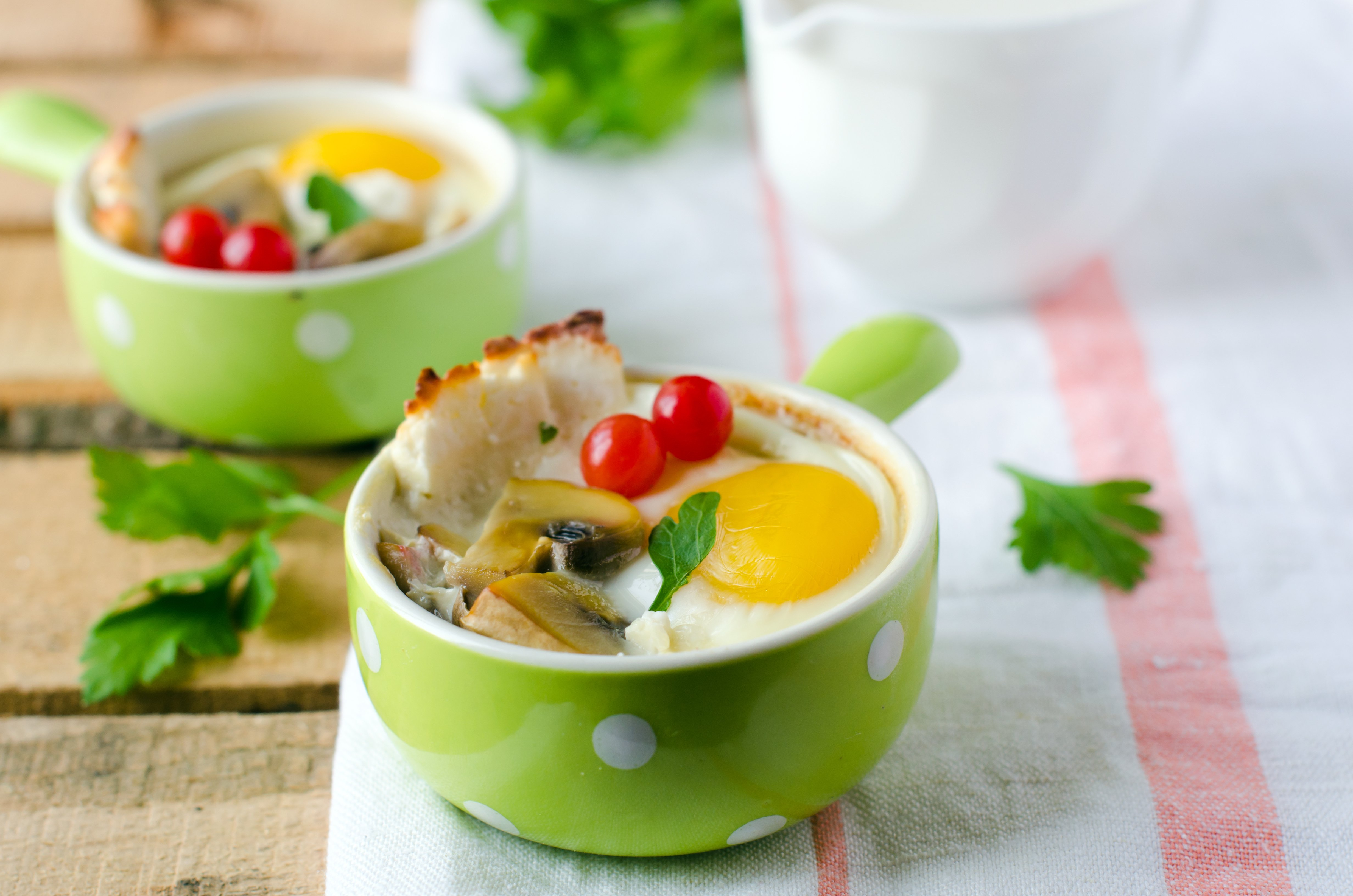 Decadent Baked Eggs
